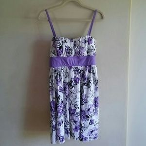 My Michelle Dresses - Floral dress with Cropped Shrug